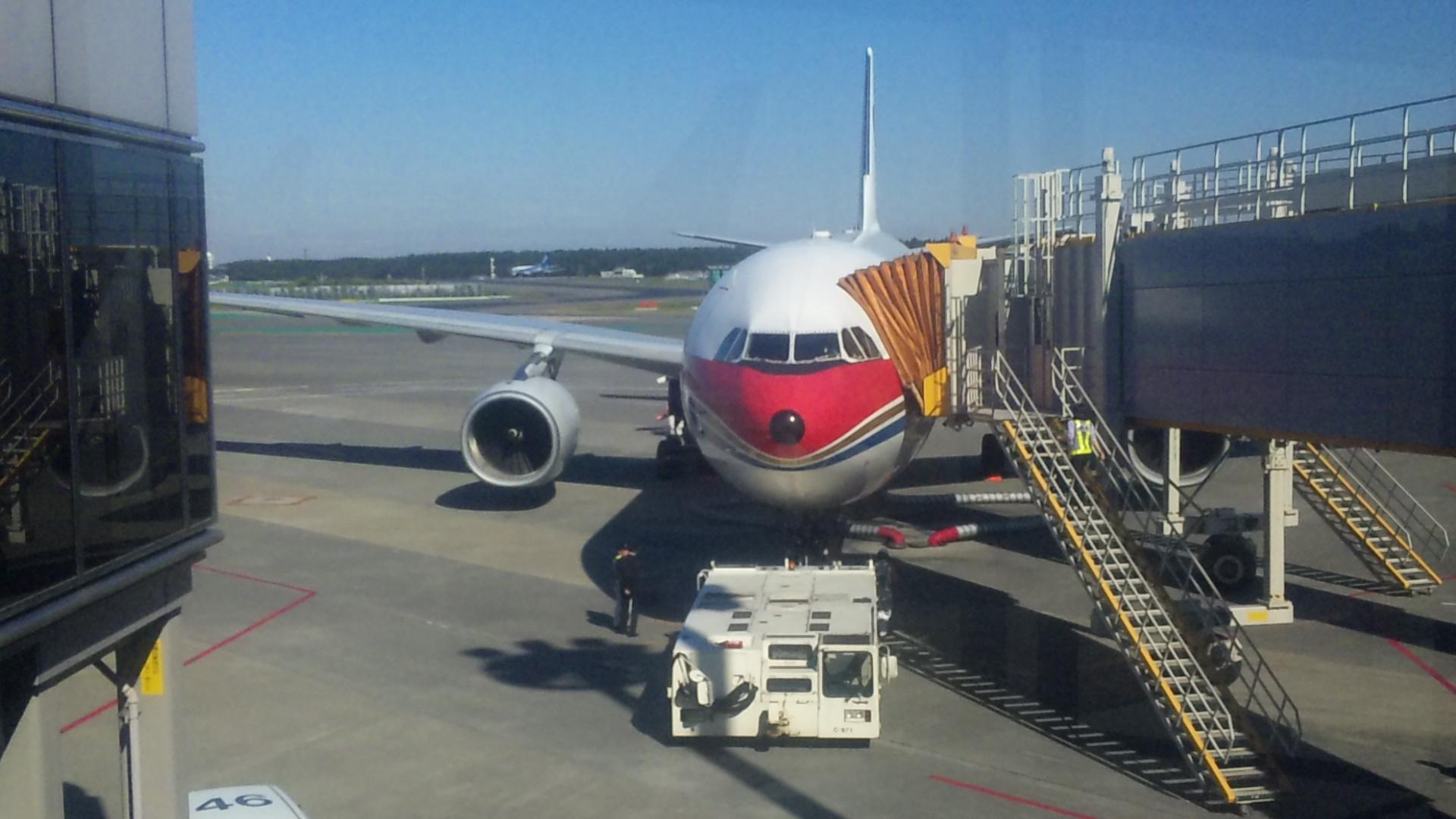 初めての中国東方航空